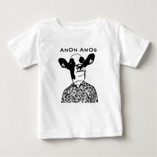 AnOn AmOs - Designer Cow Baby T-Shirt