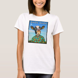 AnOn AmOs - Designer Cow - Full Colour T-Shirt