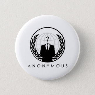 anon-logo 6 cm round badge