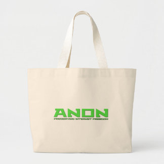 Anon Preserving Internet Freedom Tote Bag