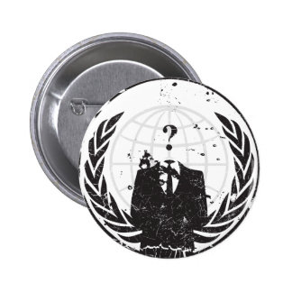 Anonymous Pinback Buttons