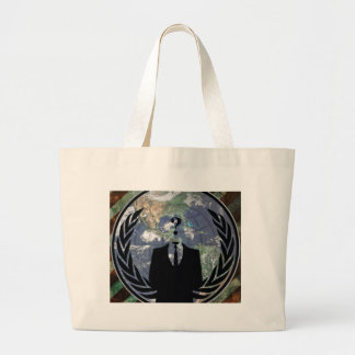 Anonymous Canvas Bag
