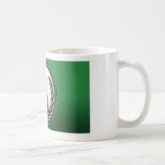 anonymous basic white mug