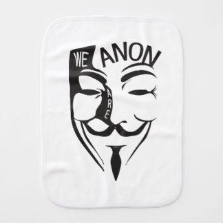 Anonymous Burp Cloth