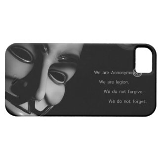 ANONYMOUS iPhone 5 COVER