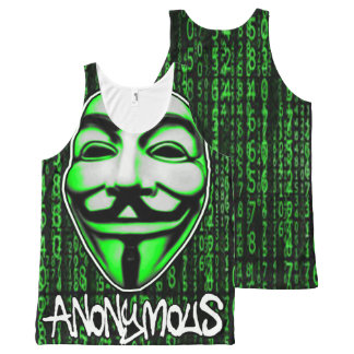 "ANONYMOUS ""CODE"" VEST TANK TOP BY DMT"