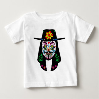 ANONYMOUS Day of the Dead 7 Anon Mask Sugar skull Tee Shirt