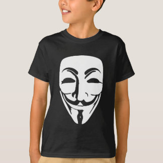 anonymous face t-shirt