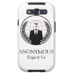 ANONYMOUS GALAXY S3 CASE