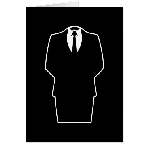 anonymous icon internet 4chan SA Greeting Card