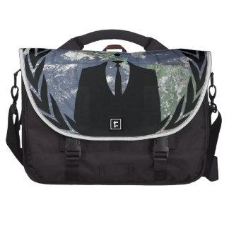 Anonymous Laptop Messenger Bag