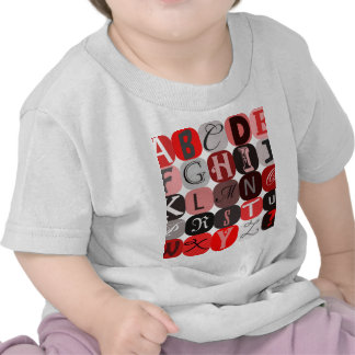 Anonymous letters for art journal or anonymous tip tshirt