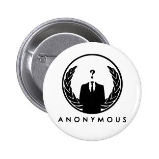 Anonymous Logo 6 Cm Round Badge