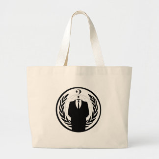 Anonymous Logo (Classic Style) Canvas Bags