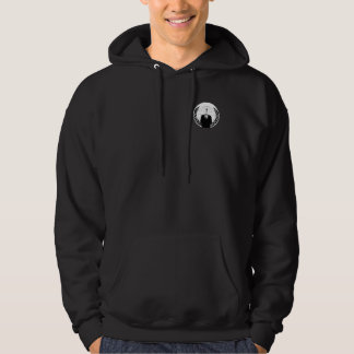 Anonymous logo front hoodie