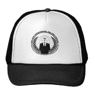 Anonymous logo w/motto hat