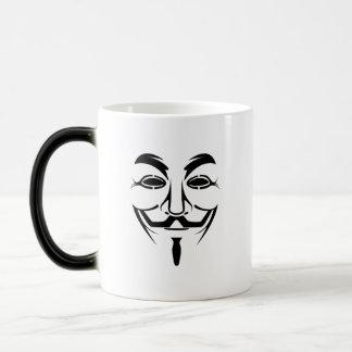 Anonymous Morphing Mug
