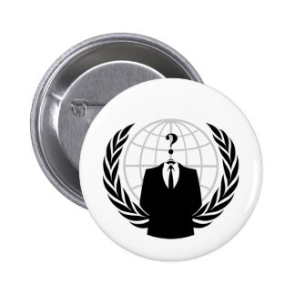 Anonymous Patriotism 6 Cm Round Badge