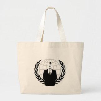 Anonymous Patriotism Canvas Bags
