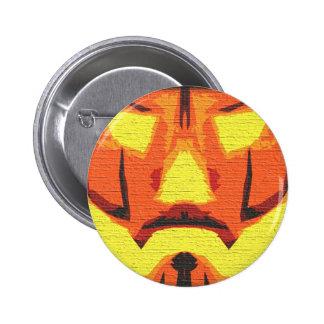 Anonymous Pumpkin 6 Cm Round Badge