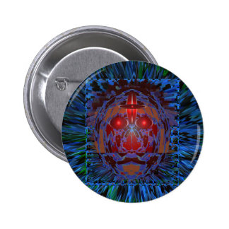 ANONYMOUS Secret Cyber Security Danger Rescue GIFT 6 Cm Round Badge