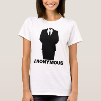 Anonymous - We are Anonymous - Girls Suite Shirt