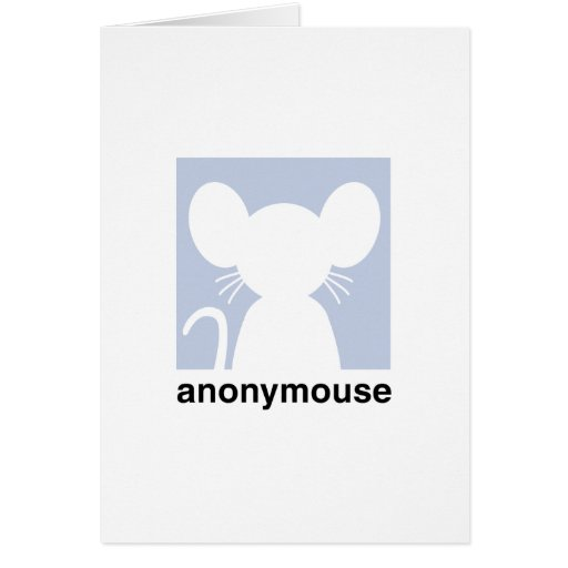 Anonymouse Cards