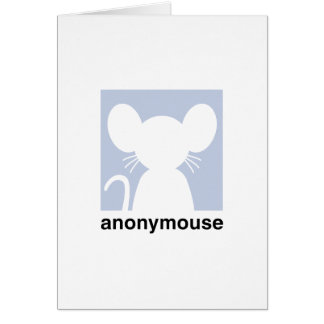 Anonymouse Note Card