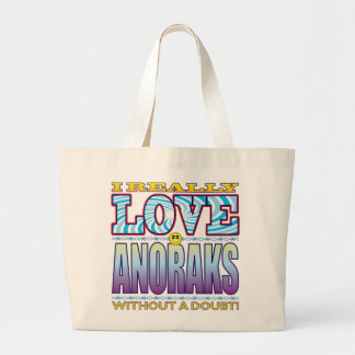 Anoraks Love Face Jumbo Tote Bag