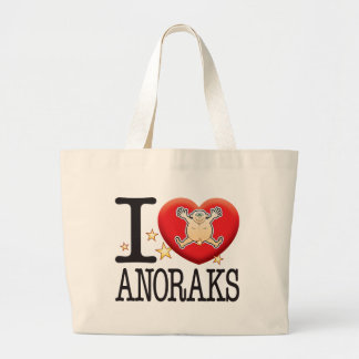 Anoraks Love Man Jumbo Tote Bag