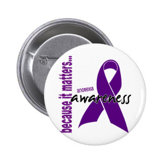 Anorexia Awareness 6 Cm Round Badge