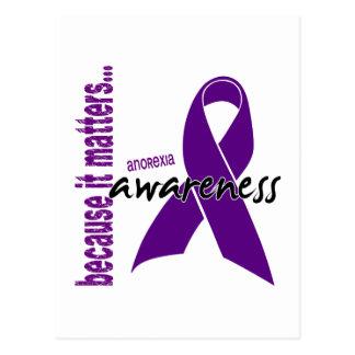 Anorexia Awareness Postcard
