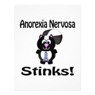Anorexia Nervosa Stinks Skunk Awareness Design 21.5 Cm X 28 Cm Flyer