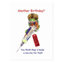Another Birthday? Postcards