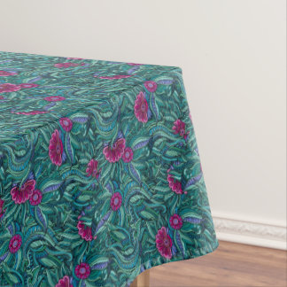 Another Bold Contemporary Floral Tablecloth