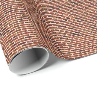 ANOTHER BRICK IN THE WALL! (Red Brick Pattern) ~ Wrapping Paper
