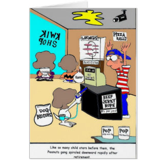Another Child Star Criminal Funny Gifts & Tees Greeting Card