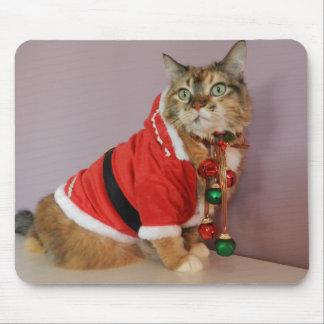 Another Christmas Santa cat Mousepad
