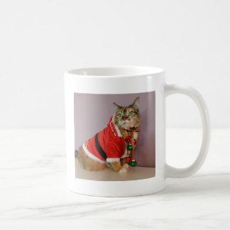 Another Christmas Santa cat Coffee Mugs