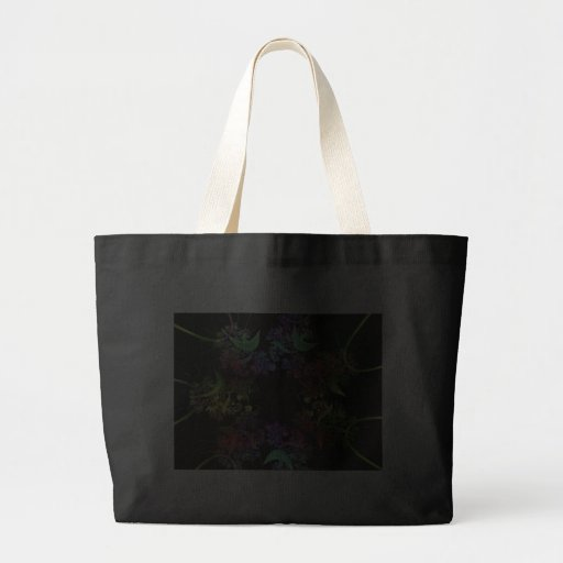 another-colourful-fractal canvas bag