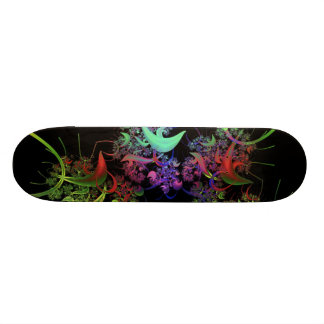 another-colourful-fractal skateboard