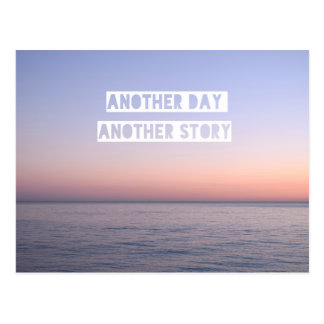 Another Day Another Story Postcard