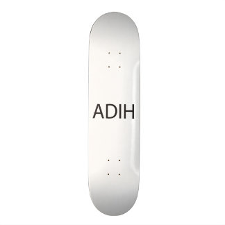Another Day in Hell.ai 21.3 Cm Mini Skateboard Deck