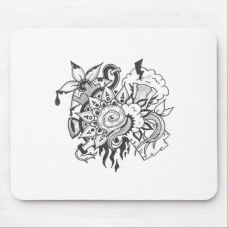 Another Doodle No 2 Mousepad