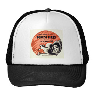 Another Enemy to Conquer Forest Fires Vintage Cap