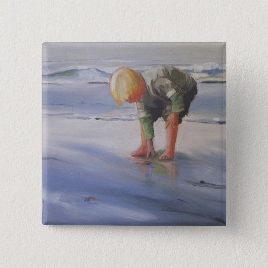 Another Great Shell 15 Cm Square Badge