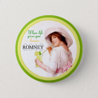 Another Lemon: Romney 2012 6 Cm Round Badge