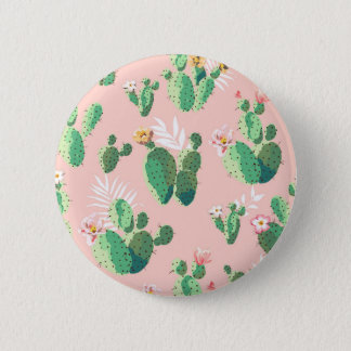Another Lovely Cactus Flowers 6 Cm Round Badge