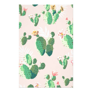 Another Lovely Cactus Flowers Stationery