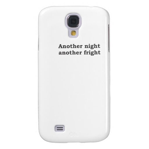 Another night another fright galaxy s4 cover